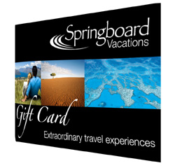 Springboard Vacations Gift Card